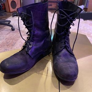 Officine Creative men's Italian lace up boots